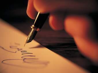 Як правильно писати любовні листи