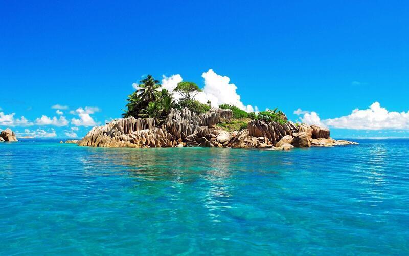 Amazing Islands Wallpapers Nature, Islands, Palms, Sunset, Sunrise, Shore, Ship, Night, Moon id666929966