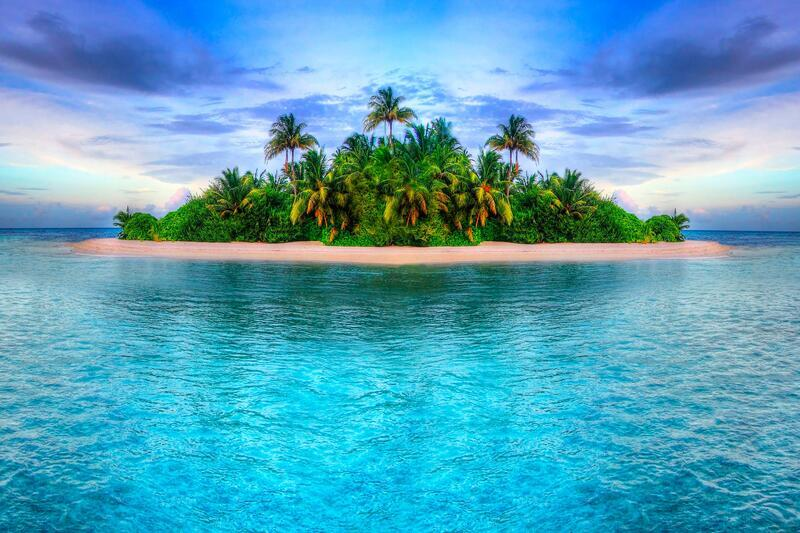 Amazing Islands Wallpapers Nature, Islands, Palms, Sunset, Sunrise, Shore, Ship, Night, Moon id169322135