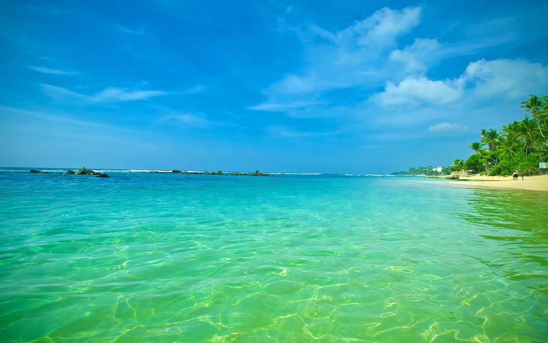Обои - Кристально чистые моря Природа, Море, Лагуна, Берег 1354407293