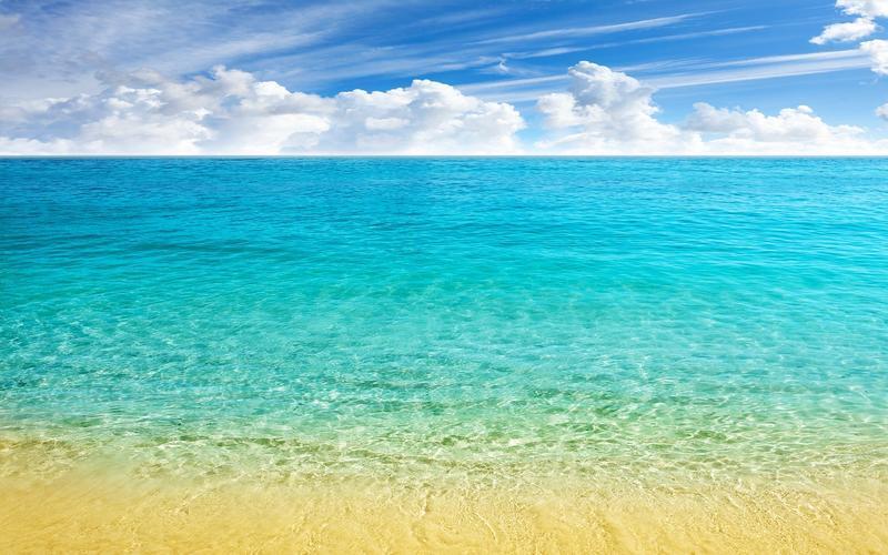 Шпалери - Кришталево чисті моря Природа, Море, Лагуна, Берег id1978592503
