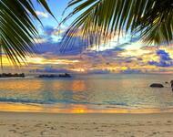 Шпалери Дивовижних островів Природа, Острови, Пальми, Захід Сонця, Схід Сонця, Берег id1095232119