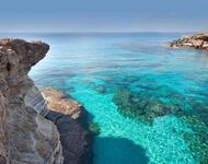 Обои - Кристально чистые моря Природа, Море, Лагуна, Берег id1719266242